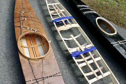 Three SOF Kayaks