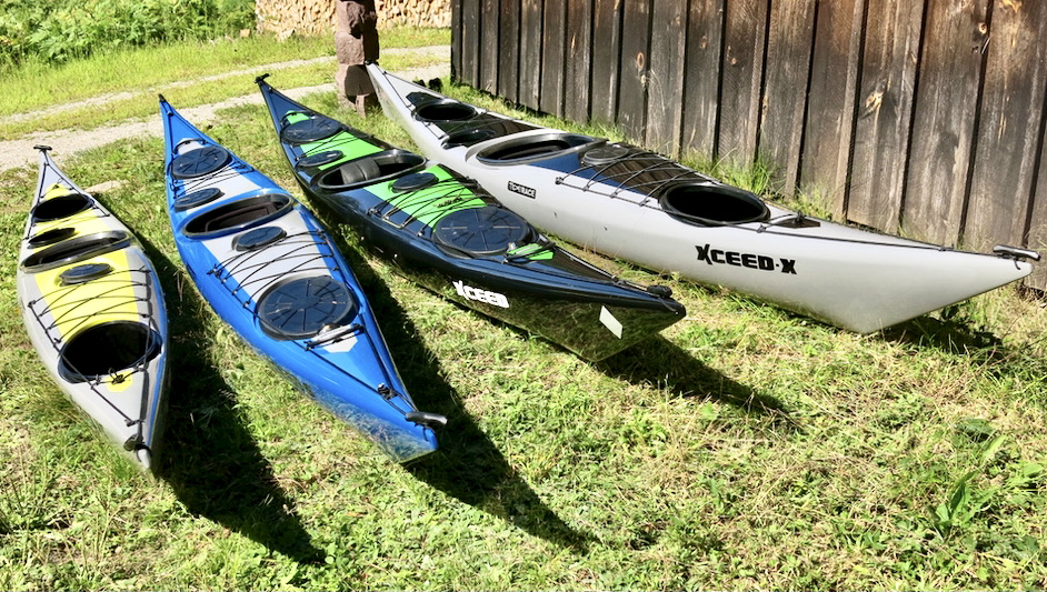 Tiderace Kayaks Xceed Family