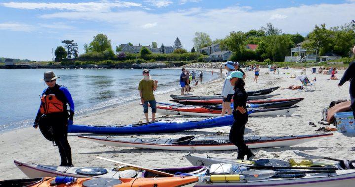 Kayak Ways Demo Day at Willard Beach